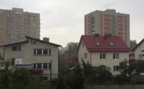 Intensywne opady deszczu w Gdyni