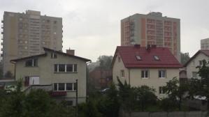Intensywne opady deszczu i gradobicie w Gdyni