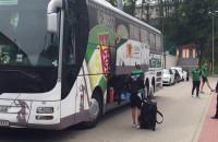 Piłkarze Lechii Gdańsk pakują się przed wyjazdem na zgrupowanie