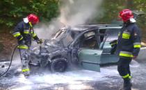 Po pożarze samochodu Malczewskiego zamknięta