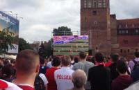 Pierwsza akcja Polaków na meczu z Ukrainą