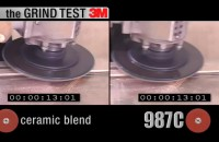 Zobacz jak szlifuje dysk fibrowy 3M 987C Cubitron II