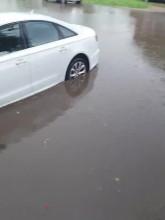 Dolne Miasto zalane po ulewie