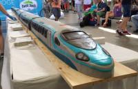 10-metrowy tort Pendolino na przejechane 10 mln km