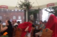 Mecz ze Szwajcarią w deszczu