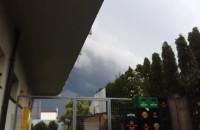 Nadciąga kolejna burza. Widok z Łostowic