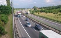 Trzyma korek na obwodnicy w Gdańsku