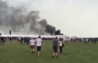 Pożar foodtrucka na Openerze