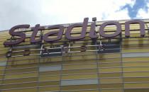 Zawieszono pełne logo stadionu w Gdańsku