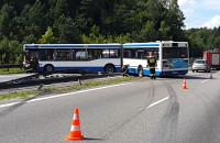 Autobus zablokował obwodnicę w Gdyni