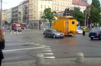 Zerwana trakcja i chaos w centrum Gdyni