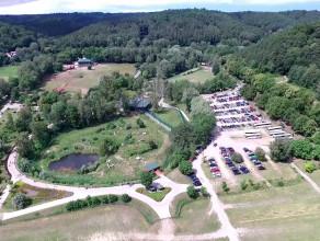Gdańskie zoo widziane z lotu ptaka