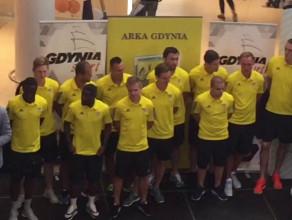 Oficjalna prezentacja piłkarzy Arki Gdynia przed sezonem 2016/17