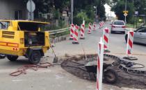 Rozpoczęła się budowa ronda na Warszawskiej
