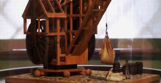 Modele dźwigów i statków