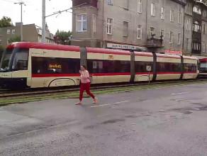 Tramwaje stoją na Grunwaldzkiej