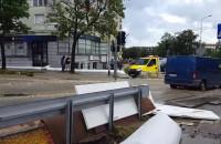 Sytuacja na skrzyżowaniu ul. ...