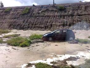 Szkody na terenie dealera Hyundaia