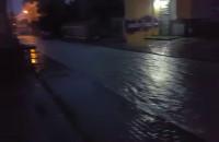 Zalana ulica Szara