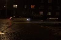 Ulica Kartuska pływa