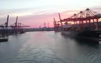 Stena Line, wyjście promu z Portu Gdynia