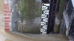 Woda w Kanale Raduni po ulewie