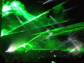 Avicii i lasery