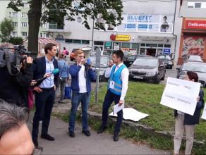 Protest w Brzeźnie. Zerwanie umowy albo prokurator
