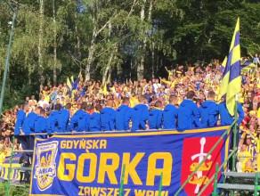 Kibice Arki Gdynia o Lechii Gdańsk i piłkarskich derbach