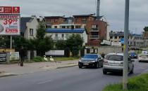 Rodzina łabędzi znów na Myśliwskiej