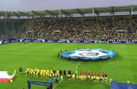 Hymn Arki na powitanie ekstraklasy w Gdyni