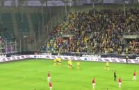 Radość piłkarzy Arki po drugim golu