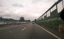 Znów korek w kierunku A1