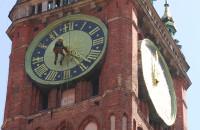 Konserwacja zegara Ratusza Głównego Miasta