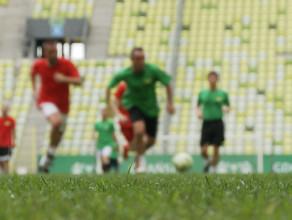 Pierwszy mecz na hybrydowej murawie Stadionu Energa Gdańsk
