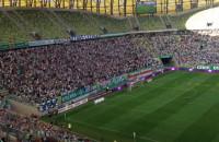"""Doping """"Lechia gol"""" podczas meczu z Wisłą Kraków"""