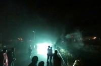 Fajerwerk wpadł w ludzi