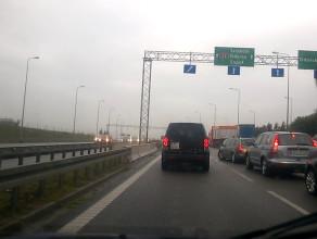 Korek w kierunku Gdyni