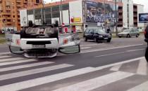 Wypadek na skrzyżowaniu obrońców wybrzeża