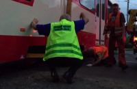 Operacja przywrócenia tramwaju na tory
