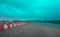Wjazd z autostrady A1 do Gdańska juz się...