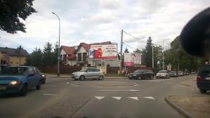 Dziwne ronda na Warszawskiej