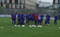 Piłkarze Arki przygotowują sie na Zagłębie