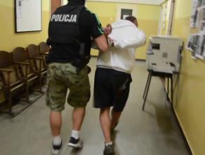 Zatrzymanie bandyty, który zaatakował kobietę na ulicy