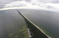 Trasa Marszu Śledzia widziana z powietrza
