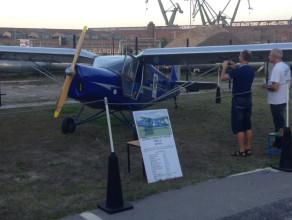 Festyn lotniczy w parku we Wrzeszczu