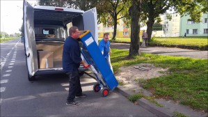 Demontaż parkomatów w pasie nadmorskim w Gdańsku