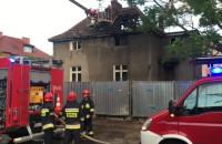 Akcja strażaków na piastowskiej w Gdańsku