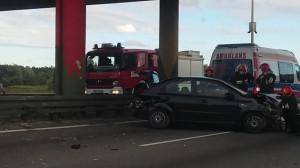Wpadek samochodu osobowego