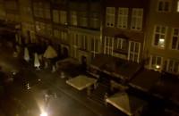 Nocna próba przed pogrzebem 'Inki' i 'Zagończyka'